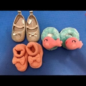 baby shoes! 0-6 mons